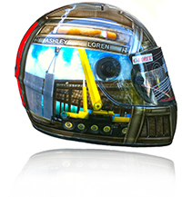 G Force helmet