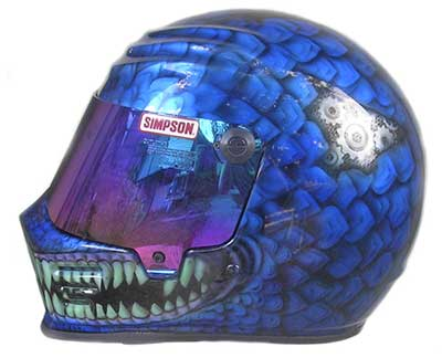 siompson race helmet