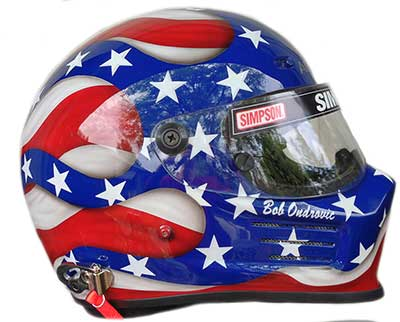 Simpson race helmet