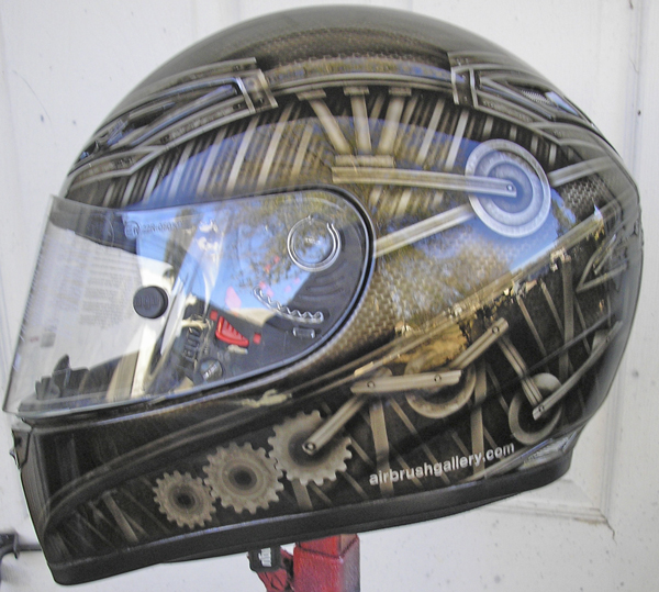 motorcycle helmet mechanical design
