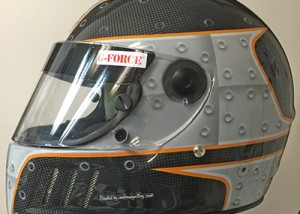 Rivets Helmet design