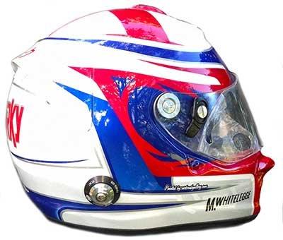 Arai race helmet