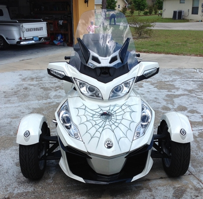 can am spider motorcycle