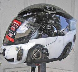 helmet car theme, design
