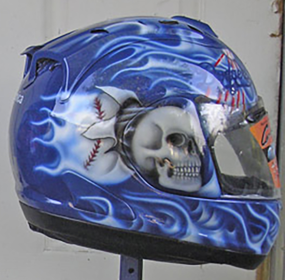 Motorcycle Helmet Painting Designs-Airbrush Helmets