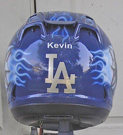 motorcycle helmet flame design