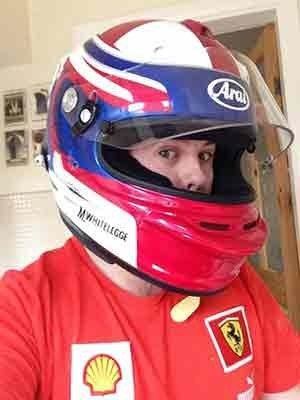 mark whitelegge kart racer