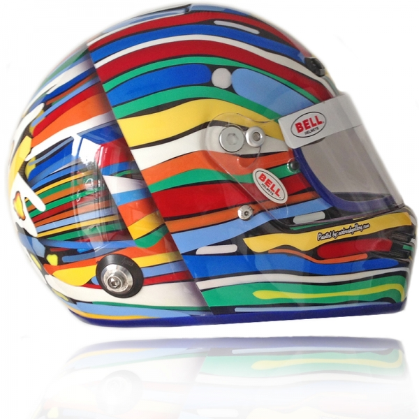 Bell Race Helmet BMW theme