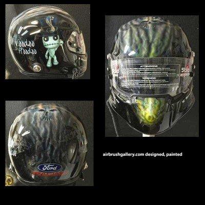 voodoo helmet design