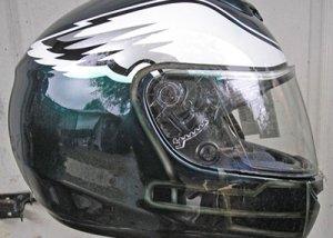 Eagles motorcycle helmet design