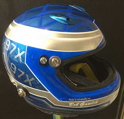 Impact custom helmet