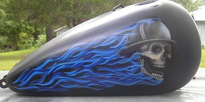 flames tank