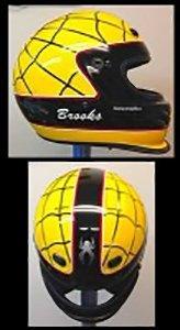 spider helmet design
