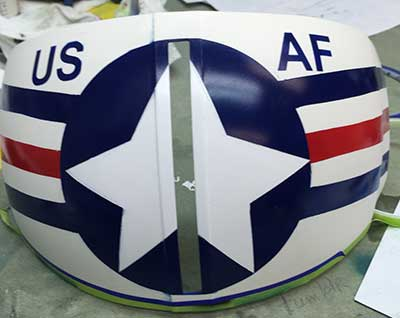 flight helmet air force