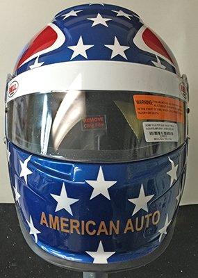 race helmet flag design