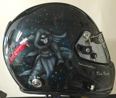 race helmet star wars theme