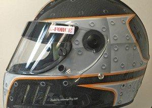 Rivets Helmet design