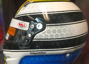 bell helmet indy car race