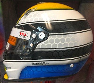bell helmet indy car race