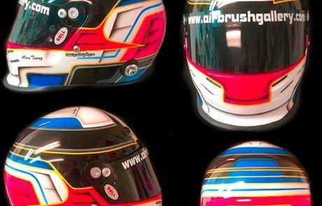 bell race helmet alan 2