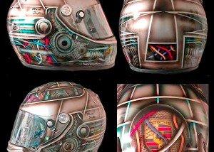 Arai gear head helmet 2