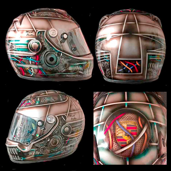 Arai gear head helmet 2