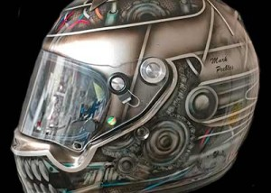 Arai helmet Gear Head Right Side