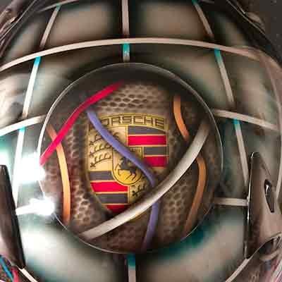 Bell race helmet Porche 3