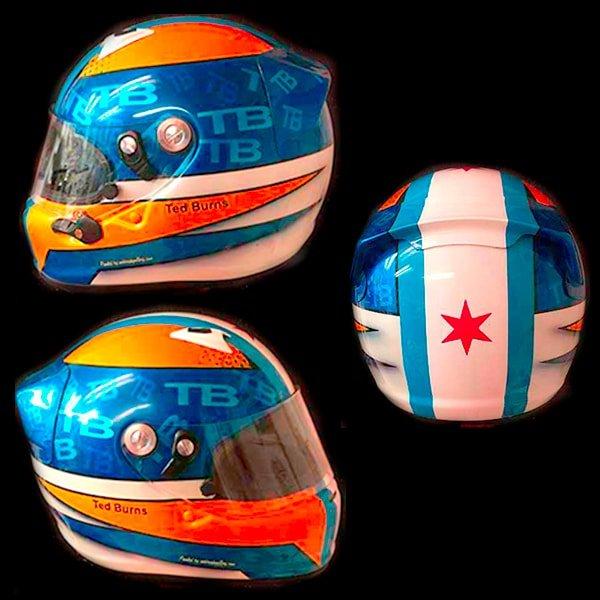 Bell Helmet Ted Burns