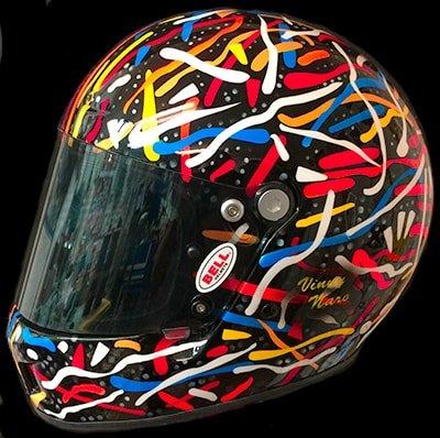 bell helmet colorful design
