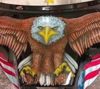 Harley Eagle design