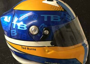 Arai Race Helmet Ted Burns