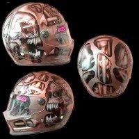 skull design helmet
