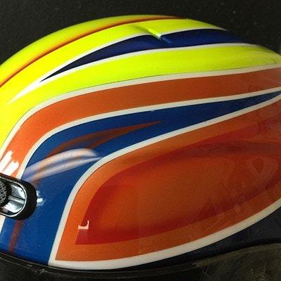 simpson vudo helmet race