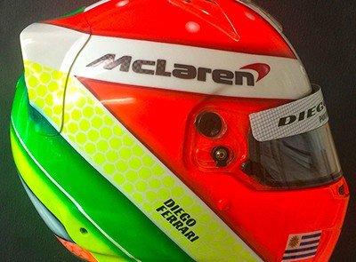 Custom Bell RS7 Carbon Helmet