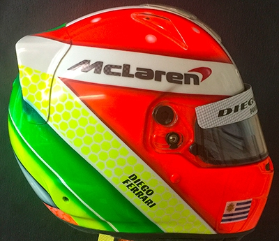 Custom Bell RS7 Carbon Helmet