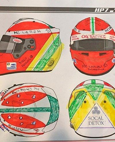diego helmet design carbon