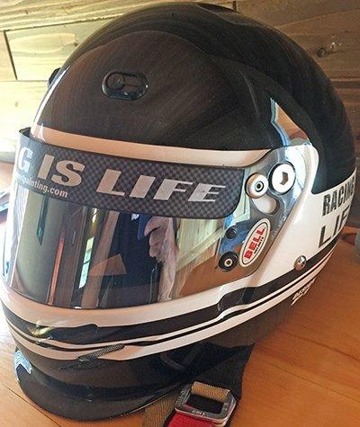 helmet visor stripe example 3