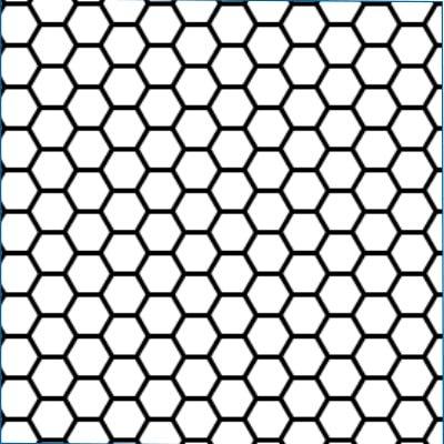 visor stripe hex design