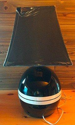 open face race helmet lamps