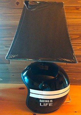 open face race helmet lamp great gift idea