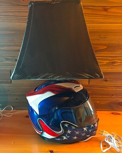 motorcycle helmet lamps