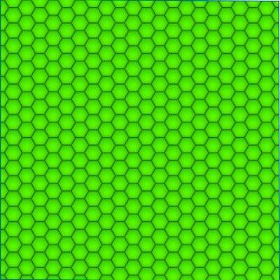 visor yellow hex pattern