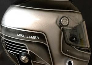 Stilo helmet design Mike James