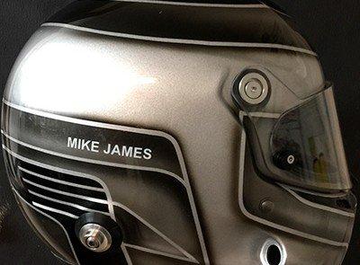 Stilo helmet design Mike James