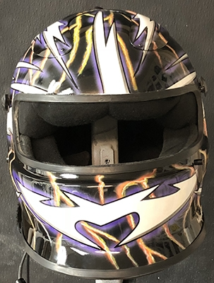 simpson race helmet 4-18