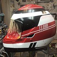 Helmet design underway