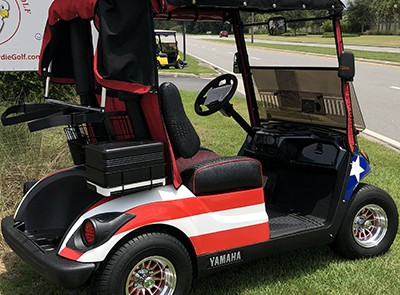 golf cart flag