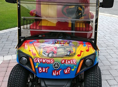 golf cart painting 7