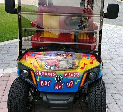golf cart painting 7